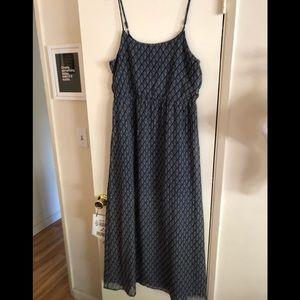 Forever 21 Blue Maxi Dress Size M